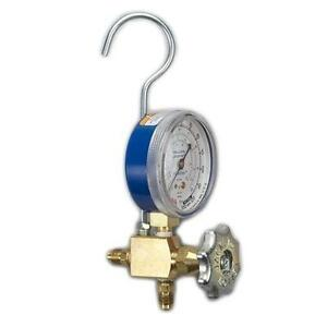 Yellow Jacket 40318 Lo side Manifold W Gauge And Hook