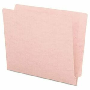 Smead Colored File Folders Straight End Tab Letter Pink 100 box smd25610