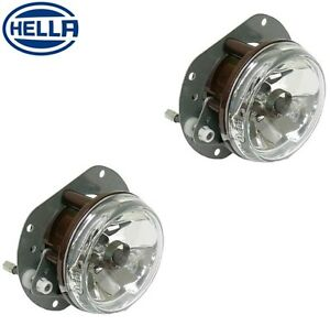 2 Front Left Right Hella Fog Lights 2308200556 Fits Mercedes W164 R171 W203
