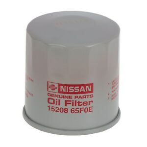 Various 1995 2015 Nissan Models Engine Oil Filter Oem New 15208 65f0e 1520865f0e