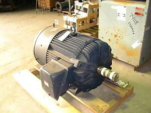 300 Hp Electric Motor 1800 Rpm 445t Frame 460 Volts Leeson 3 Ph 60 Hz New