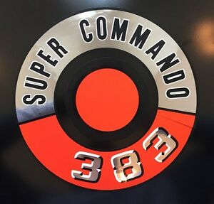 1966 1967 1968 1969 1970 Plymouth 383 Super Commando Air Cleaner Decal 66 67 68