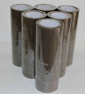 2 x110 Yards Brown tan Tape Packaging Packing Tape 72 Rolls