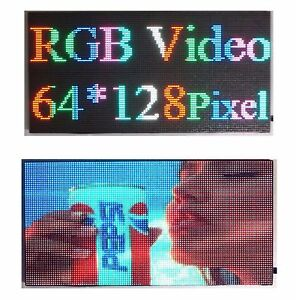 25 x 12 Full Color Video P5 Hd Led Sign Programmable Scrolling Message Display