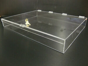 Acrylic Countertop Display Case 24 X 18 X 3 Locking Security Show Case Safe B