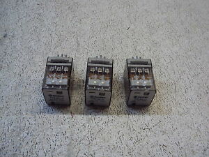 Finder Type 60 13 Relay 10a 250v Lot Of 3 Used