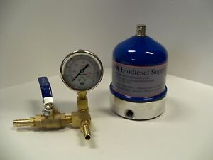55 Gph Centrifuge W brass And Gauge For Wvo oil And Biodiesel