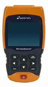 Actron Cp9690 Trilingual Obd I Obd Ii Elite Autoscanner Pro Kit W Color Screen