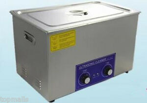 15l Ultrasonic Cleaner Heater 40khz Free Basket Jewelry Watches Dental Tattoo