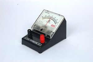 Galvanometer Pack Of 3 Educational Desk Stand Meter test Equipment lab Supply