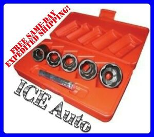 Easy Off Locking Lug Lock Nut Removal Universal Remover Socket Set