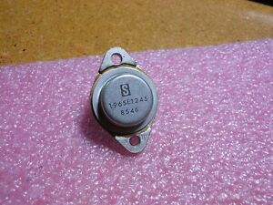 Solitron Devices Transistor 196set245 Nsn 5961 01 273 3978