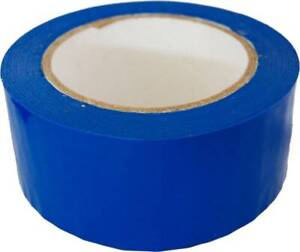 2 x110 Yards Blue Packaging Sealing Packing Tape 36 case