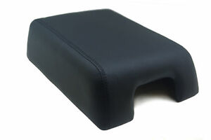 Armrest Center Console Cover Leather Synthetic For 07 17 Ford Expedition Black