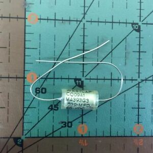 West Cap Axial Film Capacitor 039uf 50v 2 cq09a1ma393g3 0 039uf Audio Mil 2pc