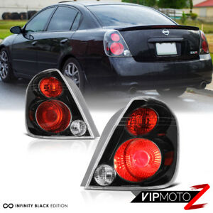 Fits 2002 2006 Altima Se R Oe Style Black Rear Tail Light Brake Lamp Left Right
