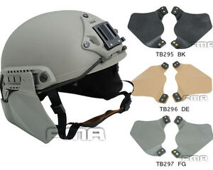 FMA Emerson helmet Side Protective Face Cover Survive Ear Protection Rail Kit $10.16