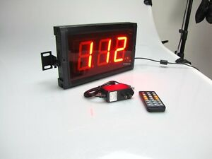 3 3digits Led Digital Counter Count Down up Timer In Seconds With Remote