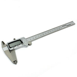 New 8 Electronic Digital Caliper Stainless Precision Inch metric Mm Lcd Dial