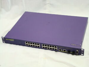 Extreme Networks X150 24t Stackable Managed Switch 15201 Refrb Wrnty