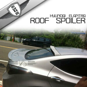 Fit For 11 14 Hyundai Elantra Avante Md Rear Roof Spoiler New Style