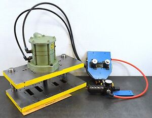 Air Mite Davf550 Pneumatic Bench Press Control Button Adjustable Timer 1 Stroke