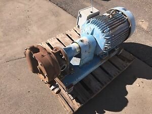 Paco Ol Water Pump W 60 Hp Motor 3550 Rpm