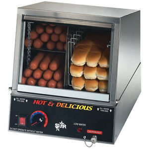 Star Hot Dog Steamer 35ssa Electric