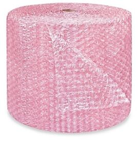 1 2 Large Bubble Wrap Cushioning Anti static Roll Padding 500 X 24 Wide 500ft