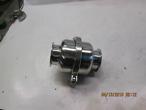 New 2 5 316l Stainless Steel Disk Type Check valve