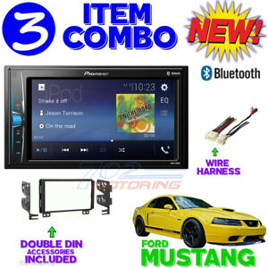 01 02 03 04 Ford Mustang Bluetooth Dvd Video Cd Usb Aux Radio Stereo