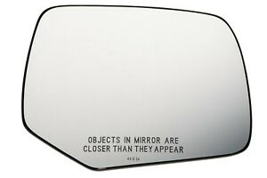 2008 2012 Ford Escape Mariner Right Passenger Side View Power Mirror Glass Oem