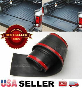 6 Rubber Truck Bed Tailgate Gap Cover Filler Seal Shield Lip Cap For Chevy