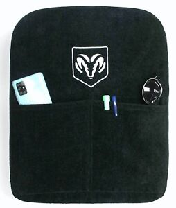 Dodge Ram 2002 18 Seat Armour Black Armrest Console Cover Pad Jump Seat Only