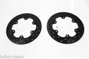 Us Brake 10 75 Drilled And Slotted Brake Rotors 9850 5002 ah Drag Racing 2 New