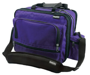 Hopkins Medical Mark V Shoulder Bag For Home Health Nurses Purple 1 Ea