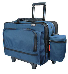 Hopkins Medical Products Rolling Medical Bag For Home Health Nurses 1 Ea