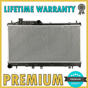 Brand New Premium Radiator For 2008 2014 Subaru Impreza Wrx 2 5 H4 Turbo
