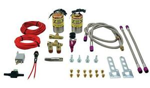 Zex 82064 50 250 Hp Dual Add a stage Nitrous Oxide Kit