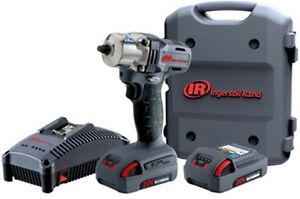 Ingersoll Rand W5130 K22 3 8 20v Mid Impact With 2 Battery Kit 2 5ah