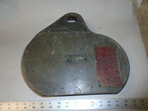 Machinist Tools Lathe Mill Machinist South Bend Lathe Gear Cover