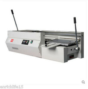 Dc 40t Semi automatic Swaktop Perfect Binding Machine glue Book Binding Machine