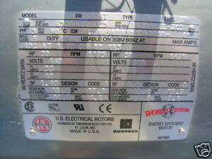 New Us Electrical Motor 100012 2703 0 30hp Ac Motor