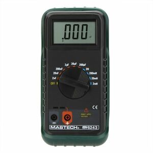 Mastech My6243 Portable Digital Lc Meter Capacitance Meter Inductance Tester