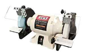 Brand New Jet Bench Grinder Jwb 8 W Norton Wheels 726100