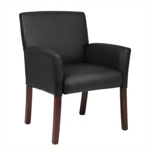 Boss Office Products Caressoft Guest Box Arm Guest Chair