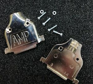 Amp 745173 4 Connector Backshell Db25 Die Cast 25 position new
