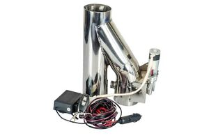 3 76mm Exhaust Downpipe Testpipe Catback Electric Cutout Kit With Remote 3inch