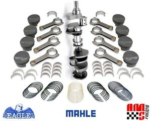 Forged Rotating Assembly Chevy 383 6 000 Rods Mahle Flat Top Pistons Balanced