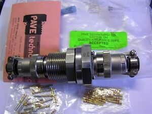 1 Mil spec Pave Vs18 ss 150 19 20 3112ps Pave mate 19p 20awg Feed Thru Connector